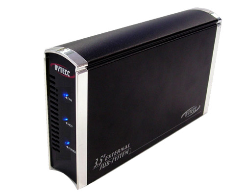 "Bytecc 3.5"" SATA to eSATA External HDD Enclosure"