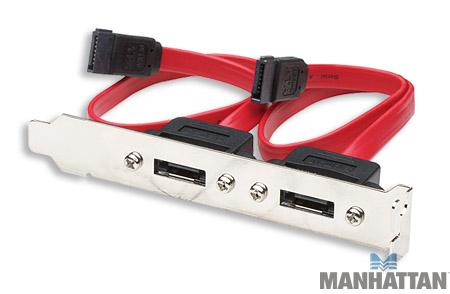 Manhattan Internal SATA to External SATA Bracket