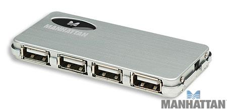 Manhattan 4-Port Hi-Speed USB 2.0 Micro Hub
