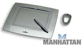 "Manhattan 6"" x 8"" Graphics Tablet"