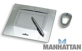 "Manhattan 4"" x 5.5"" Graphics Tablet"