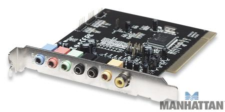 Manhattan 7 Channel PCI Sound Card