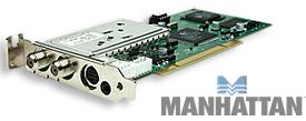 Manhattan PCI Analog TV Tuner Card