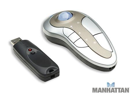 Manhattan MXP Wireless Presentation Mouse