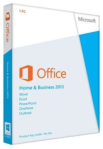 Microsoft Office 2013 Home & Business Key Card (1 user)