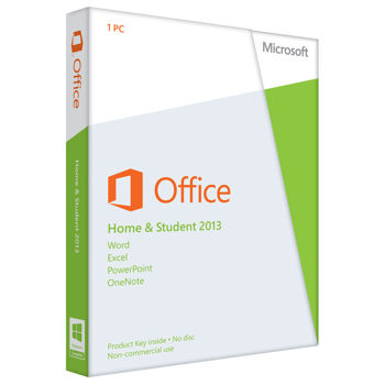 Microsoft Office 2013 Home & Student Key Card (1 user)