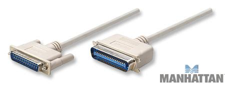50' Printer Cable DB25 Male to CEN36 Male