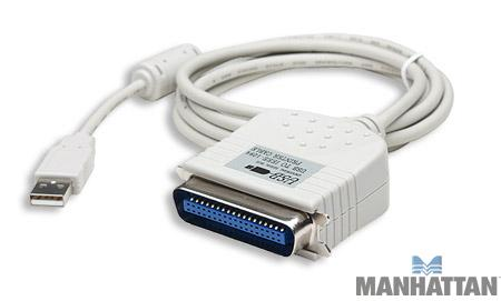 Manhattan 6' USB to Centronics Printer Converter