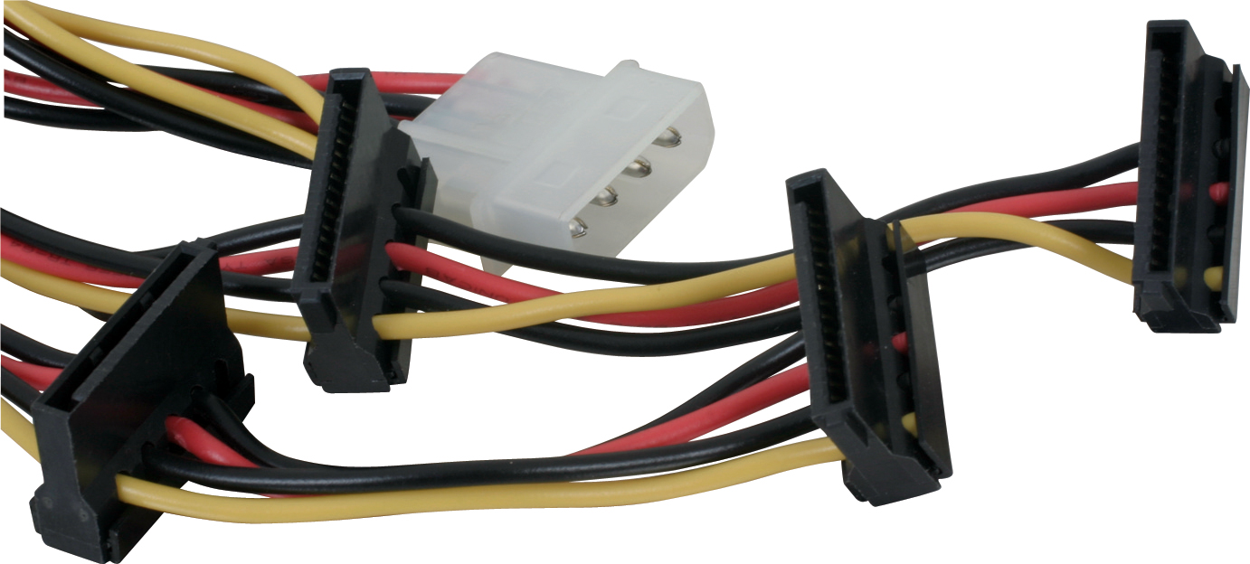 SATA power to 4pin molex spliter