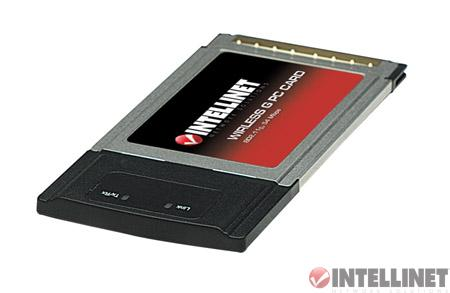 Intellinet Wireless G PCMCIA Adapter