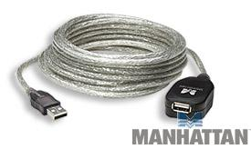 15' Hi-Speed USB 2.0 Active Extension Cable MF