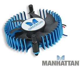 Manhattan Aluminum Video Card Chipset Cooler