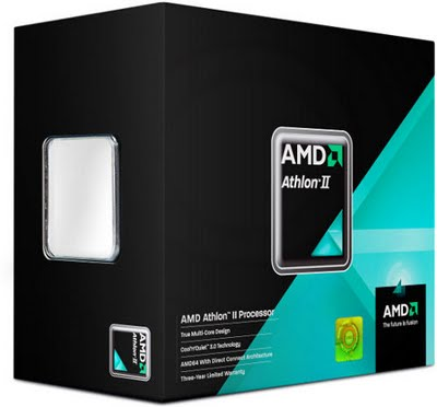 AMD Aathlon II 64 X4 640-3.0Ghz retail box w/fan
