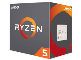 AMD Ryzen 5 1400-3.2G (Turbo to 3.4G) 4 cores w/fan
