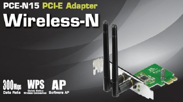 ASUS PCE-N15 Wireless PCI-Express adapter