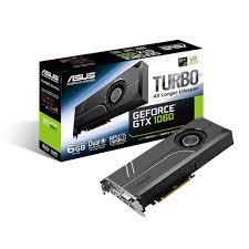 ASUS NIVIDIA Geforce GTX 1060 TURBO 6GB PCI-E