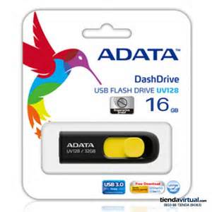 Adata 16GB USB 3.0 Flash drive UV128
