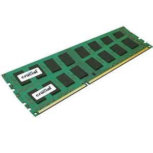 Crucial 8GB (2X4GB) DDR3 1600FSB 240pin