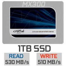 Crucial MX300 1TB Solid State Drive SATA 6 2.5""