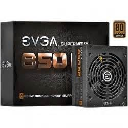 EVGA Supernovo 850 B2 M850 850W 80PLUS ATX power supply