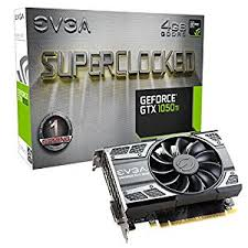 EVGA NIVIDIA Geforce GTX 1050 Ti 4GB SC Gaming PCI-E