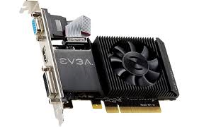 EVGA NIVIDIA Geforce GT 710 1GB DDR3 w/2XDVI+HDMI