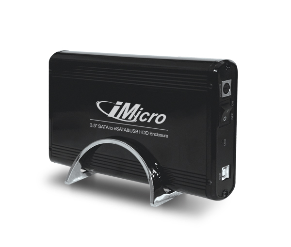 "iMicro 3.5"" SATA/IDE Combo to USB External HDD Enclosure"