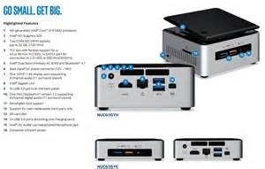 Intel NUC6i5SYH Core i5 mini PC with 16GB DDR4 memory