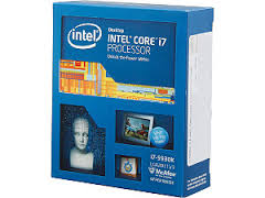 Intel LGA 2011-3 Haswell-E Quad core i7-5930K retail box w/o fan