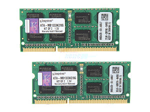 Kingston 8GB (2X4GB) KTA-MB1333K2/8GB DDR3 for Apple