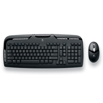 Logitec Wireless keyboard & Optical mouse combo