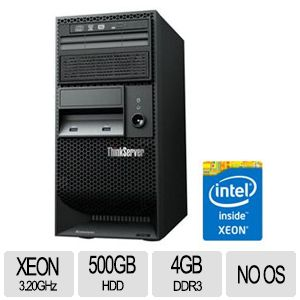 Barebone: Lenovo ThinkServer TS140-70A4001MUX(1P/Tower/no OS/ So
