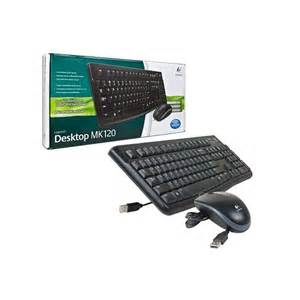 Logitec USB keyboard & mouse combo MK120 retail box