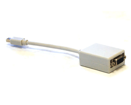 "Mini DisplayPort to VGA 0.5ft (6"") Adaptor"