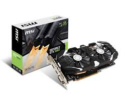 MSI GTX 1060 Gaming OC 3GB OC PCI-E
