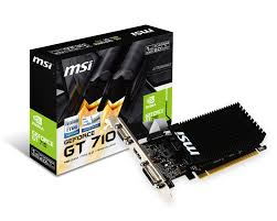 MSI Geforce GT 710 1GB PCIE
