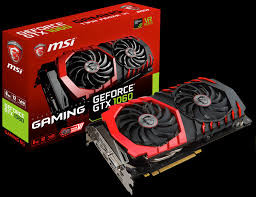 MSI GTX 1060 Gaming X 6GB PCI-Express