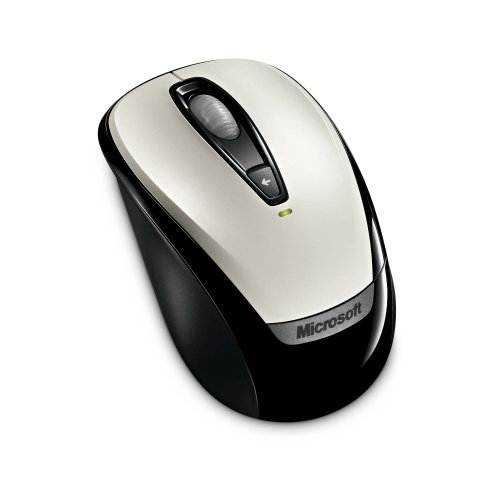 Microsoft Wireless 6BA-00001 Mobil mouse-White retail box