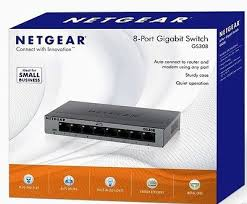 Netgear GS308-100PAS 8 Ports 10-100-1000 gigabit switch