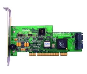 HighPoint RocketRAID 1740 4-Channel PCI SATAII RAID Controller