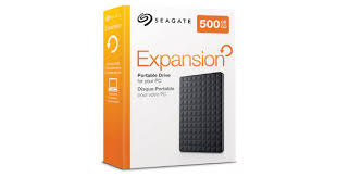 "Seagate Expansion 1TB 2.5"" external USB 2.0/3.0 HDD"
