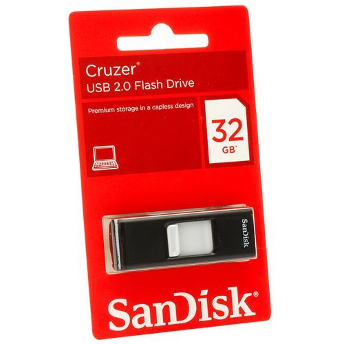 SanDisk Cruzer SDCZ36032G-B35 32GB USB 2.0 flash drive