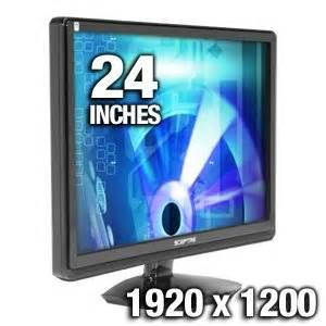 "Sceptre 24"" LED monitor"