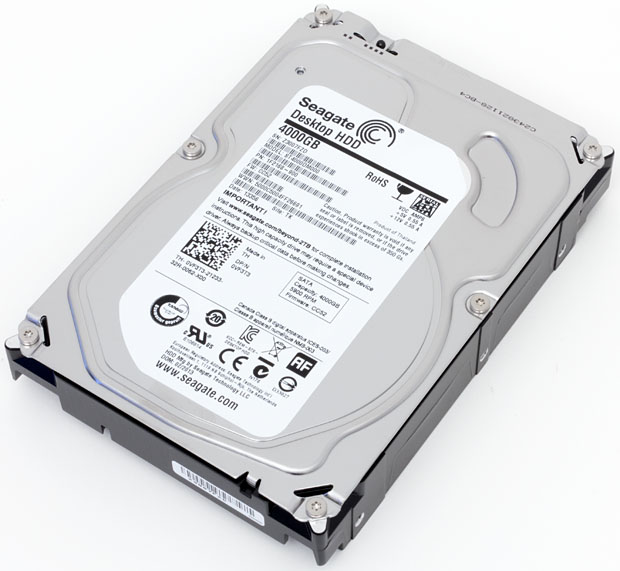 Seagate Barracuda ST4000DM000 4TB 64M buffer 5900RPM SATA3 6