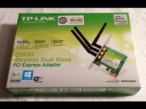 TP-Link N900 wireless PCI-E adapter