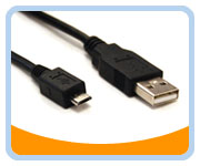 Hi-Speed USB 2.0 3' A to micro Cable
