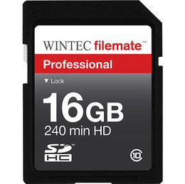 Wintec Security Digital SDHC 16GB Class 10 flash card