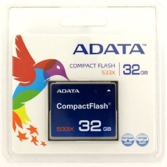 ADATA Compact Flash 32GB 533X Flash card
