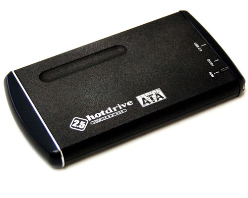 "Bytec 2.5"" IDE to USB aluminum BK enclosure"