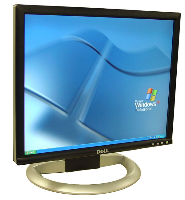 "Used: Dell 19"" BK LCD monitor regular screen"